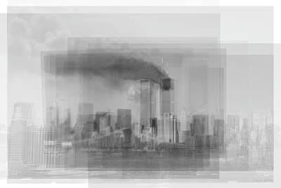 World Trade Centre Nyc 9/11 Poster by Steve Socha