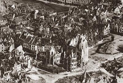 World War I: View Of Arras Poster by Granger