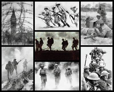 World War II Poster by John Springfield