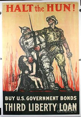 World War Poster Poster by Celestial Images