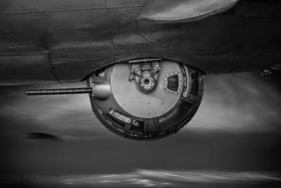 World War Two Bomber  B17 Poster