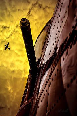 World War Two North American B-25 Poster by Bob Orsillo