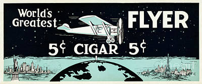 Worlds Greatest Cigar Poster by Jon Neidert