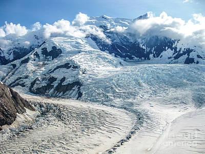 Wrangell Alaska Glacier Poster