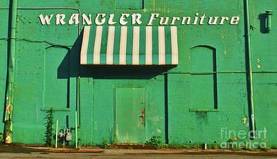 Wrangler Furniture Poster