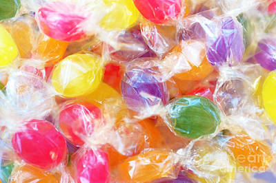 Wrapped Candies Poster