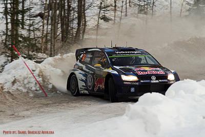 WRC Poster by Daniel Gonzalez Aguilera