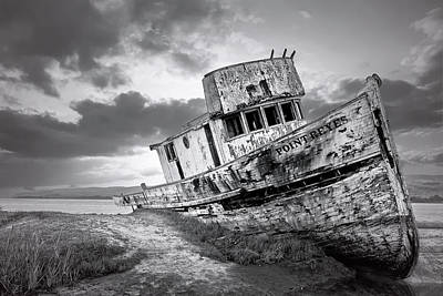 Wrecked In Point Reyes Poster by Jon Glaser