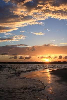 Wrightsville Beach Island Sunset Poster