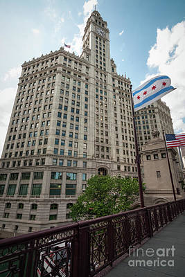 Wrigley Building Poster