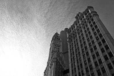 Poster featuring the photograph Wrigley Building II by Jane Melgaard