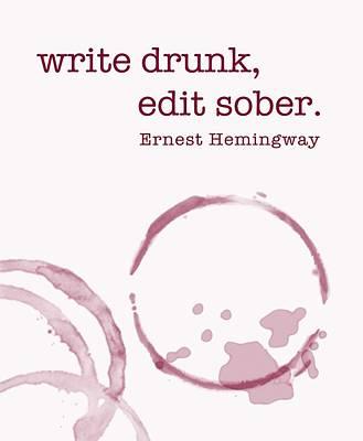 Write Drunk Poster