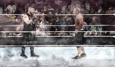 Wwe Wrestling 101 Poster by Jani Heinonen