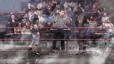 Wwe Wrestling 1105 Poster by Jani Heinonen