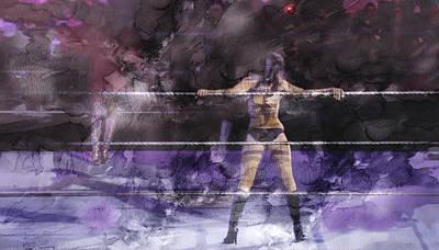 Wwe Wrestling 334 Poster by Jani Heinonen