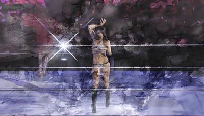 Wwe Wrestling 340 Poster by Jani Heinonen