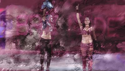 Wwe Wrestling 342 Poster by Jani Heinonen