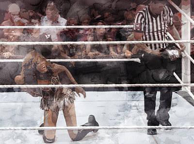 Wwe Wrestling 52 Poster by Jani Heinonen