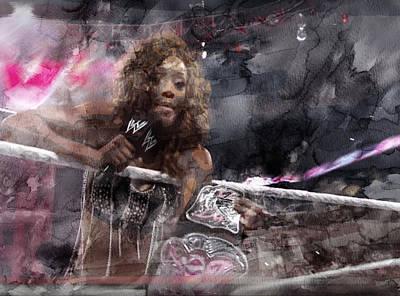 Wwe Wrestling 99 Poster by Jani Heinonen