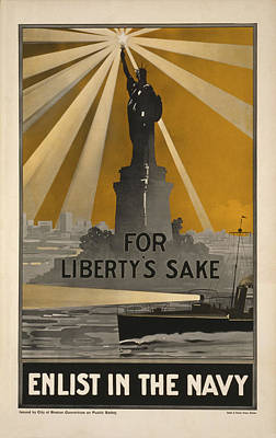 Wwi Recruitment Poster Poster by Underwood Archives