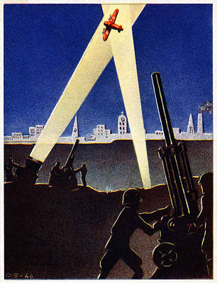 Wwii Antiaircraft Guns Of Finland Poster by Historic Image