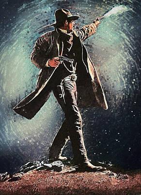 Wyatt Earp Poster by Taylan Apukovska