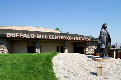 Wyoming Buffalo Bill Center Of The West Signage Poster by Thomas Woolworth