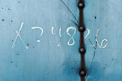 X 2.4826 ...slate Blue Poster