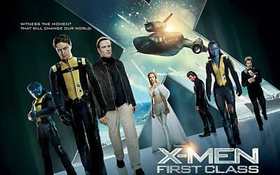 X Men First Class 2011 Movie Poster