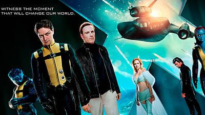 X Men First Class High Resolution Poster