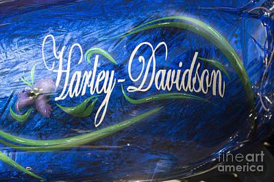 Harley Davidson 2 Poster by Wendy Wilton