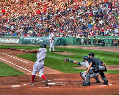 Xander Bogaerts - Boston Red Sox Poster by Joann Vitali