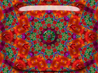 Poster featuring the digital art Xmas by Robert Orinski