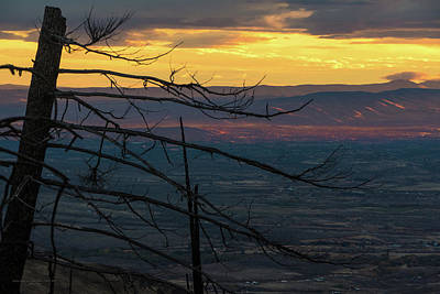 Yakima Valley From Sedge Ridge Poster by Ron Day