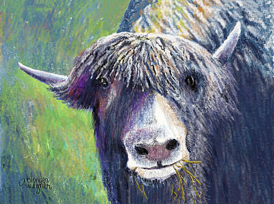 Yakity Yak Poster by Arline Wagner