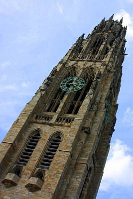 Yale University Cathedral Tower Poster