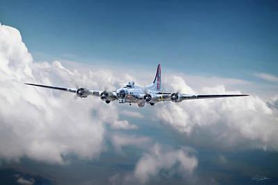 Yankee Lady B-17 Poster
