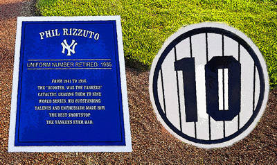Yankee Legends Number 10 Poster by David Lee Thompson