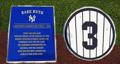 Yankee Legends Number 3 Poster