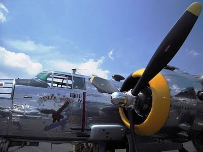 Poster featuring the photograph Yankee Raider B-25  by Don Struke