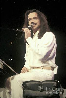 Yanni Painting Poster