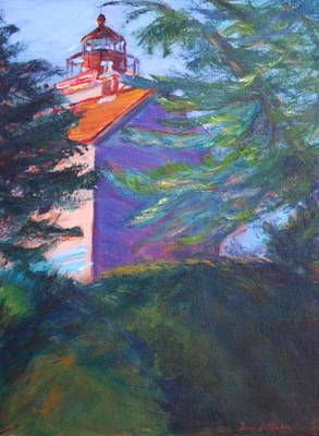 Yaquina Bay Lighthouse  Poster