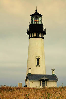 Yaquina Head Lighthouse - Newport Or Poster by Christine Till