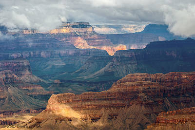 Poster featuring the photograph Yavapai Point by Beverly Parks