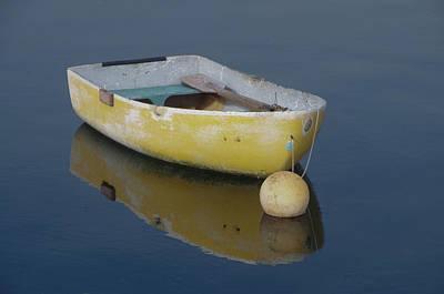 Yellow Rowboat Poster