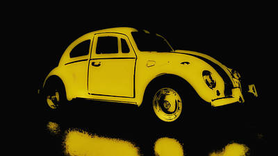Yellow Bug Poster