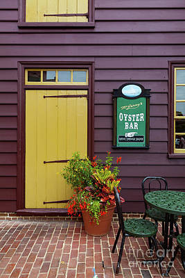 Yellow Door In Annapolis Poster
