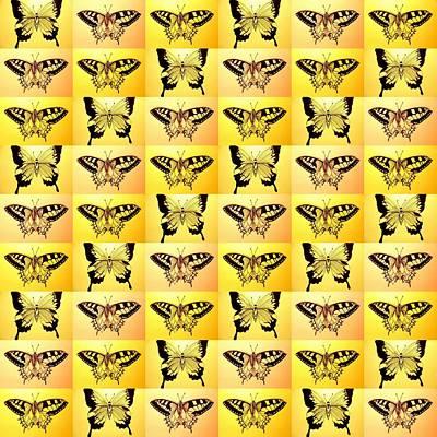 Yellow Fantasy Poster