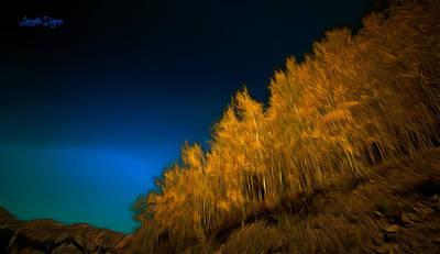 Yellow Forest - Pa Poster by Leonardo Digenio