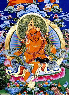 Yellow Jambhala 14 Poster by Lanjee Chee